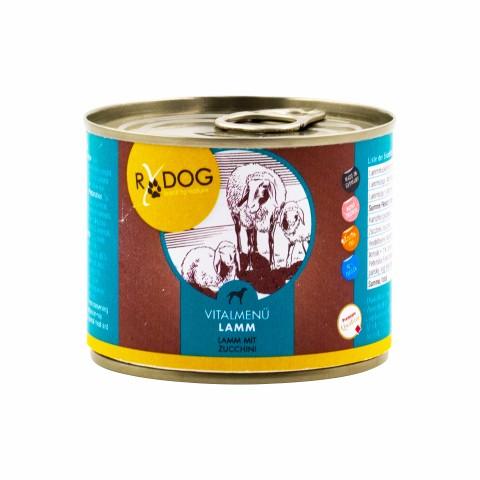 RyDog Vital Menu Lamb (Vitalmenü Lamm) 200g (6 Piece)