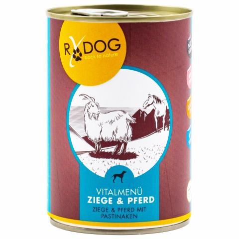 RyDog Goat&Horse (Ziege&Pferd) 400g (6 Piece)