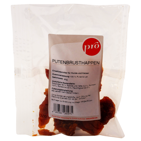 Pro Putenbrusthappen 90g (1 Packung)